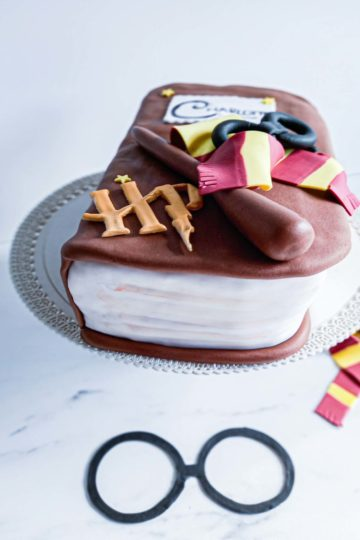 Gateau licorne anniversaire harry potter - patisse et malice