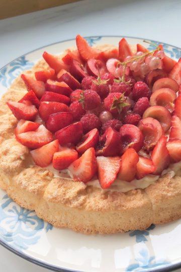 tarte aux fraises inspiration montebello - patisse et malice