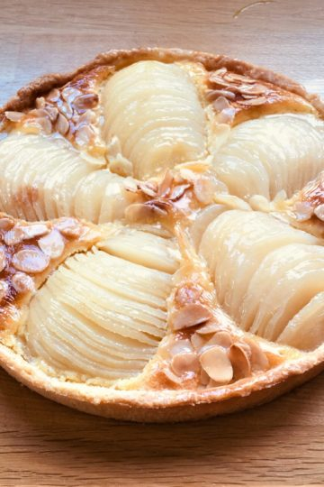 Tarte bourdaloue - patisse et malice