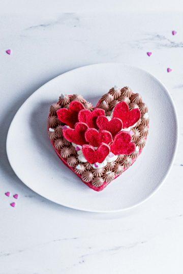 lovecake saint valentin - cakedesign - patisse et malice
