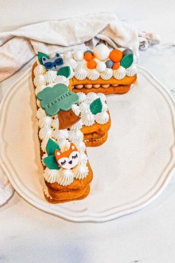 Lettercake de printemps - patisse et malice