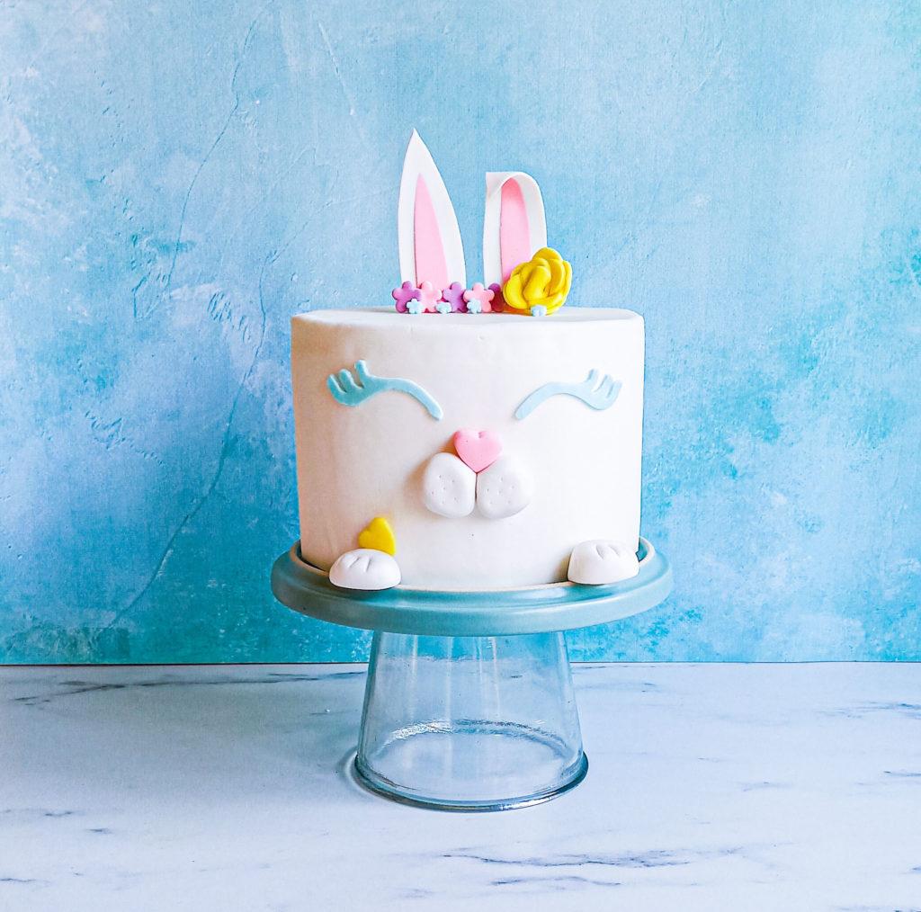 layercake lapin printemps - patisse et malice