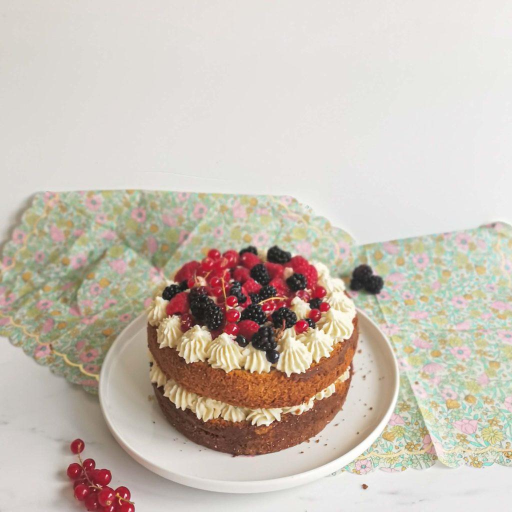 layercake the matcha framboise ganache vanille- patisse et malice
