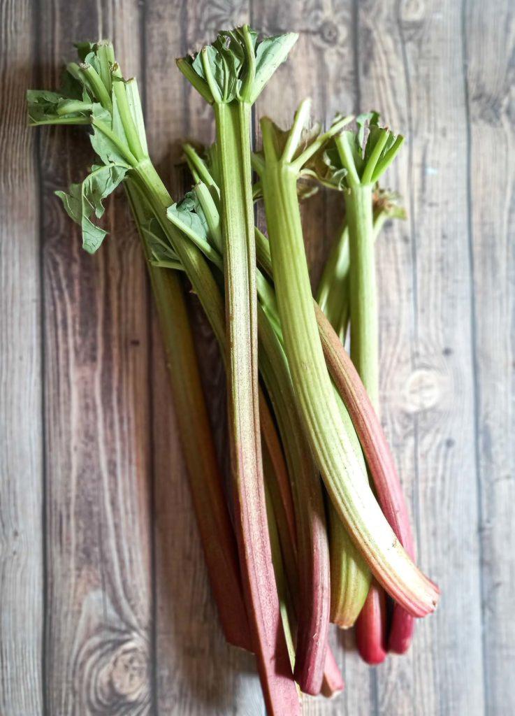 tarte sablée à la rhubarbe - rhubarbe du jardin - patisse et malice