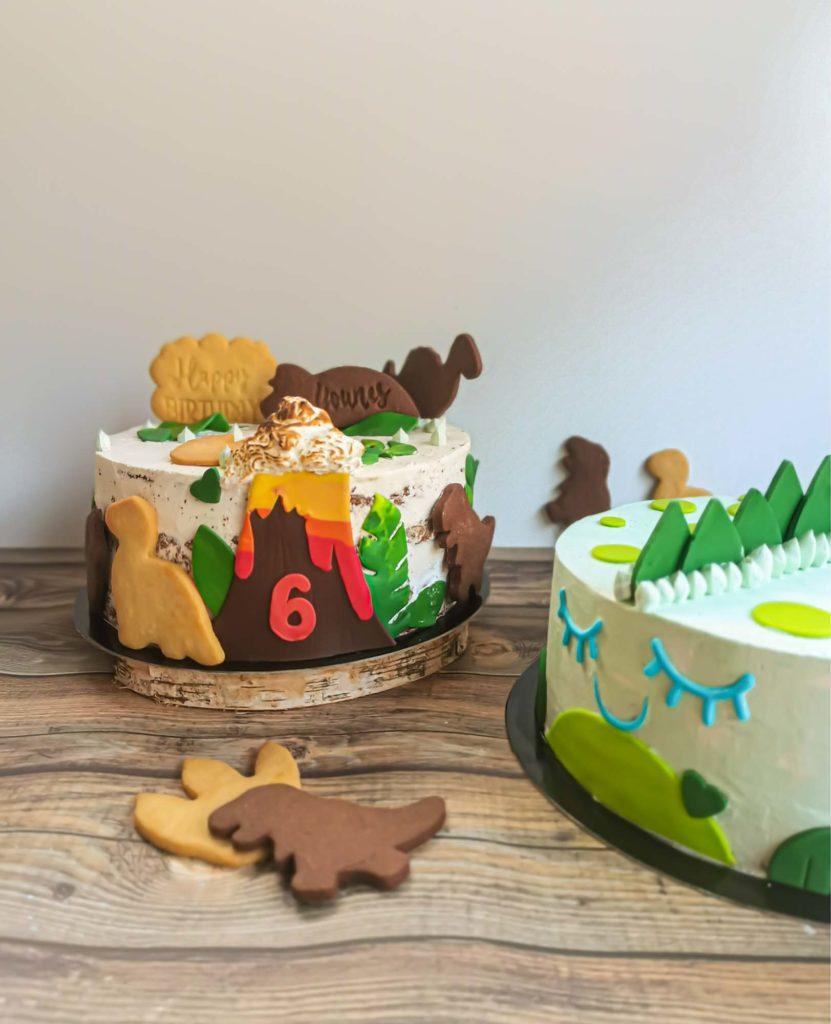 Gâteaux personnalisés dinosaure - patisse et malice