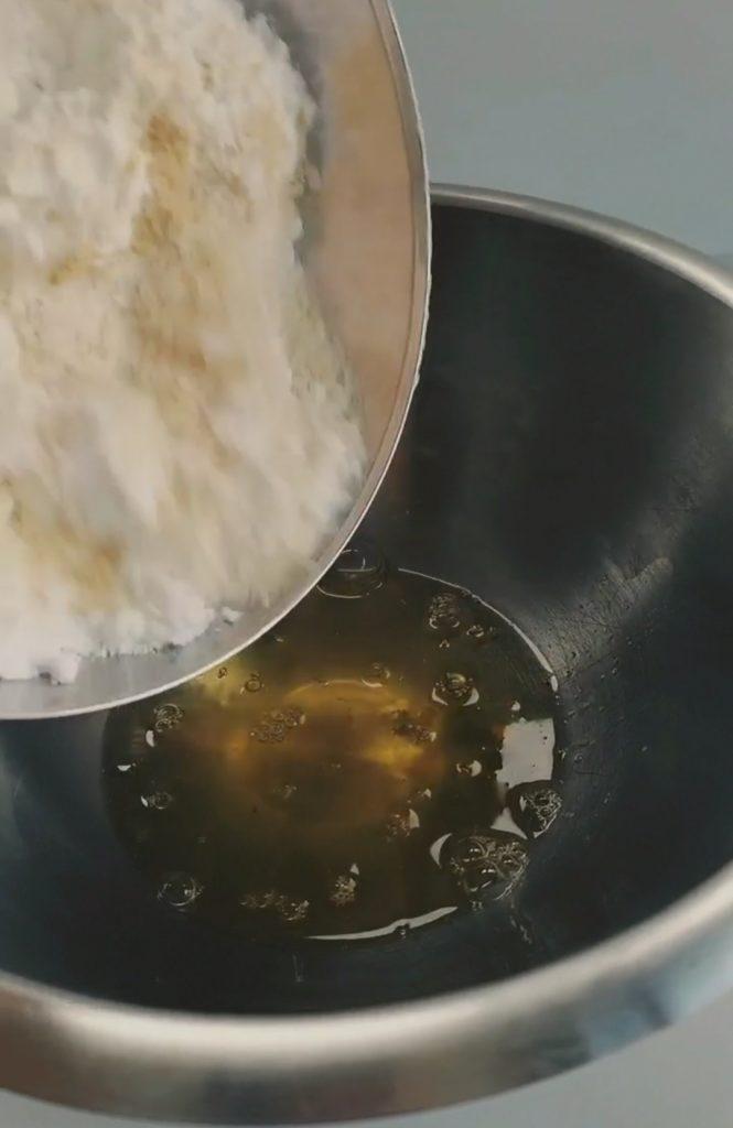 tigrés moelleux chocolat maison - préparation - patisse et malice