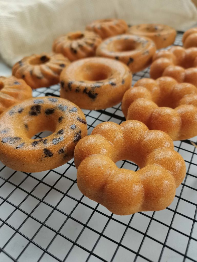 tigrés moelleux ou donut chocolat maison - patisse et malice